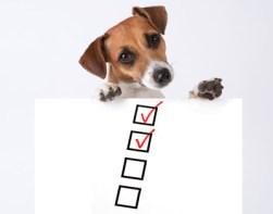 「dog checklist」の画像検索結果