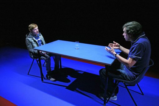 Conor MacNeill, Stephen Rea, David Ireland, Half a Glass of Water