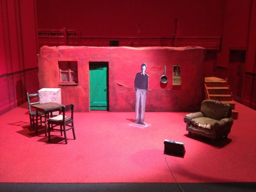 Bob Crowley, Farewell, stage design, Clare Dwyer Hogg