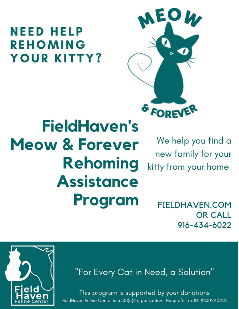 FieldHaven's Meow & Forever Homing Assistance Program