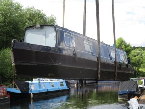 Survey of a traditional style narrowboat