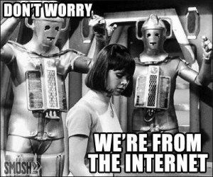 Robots from the internet
