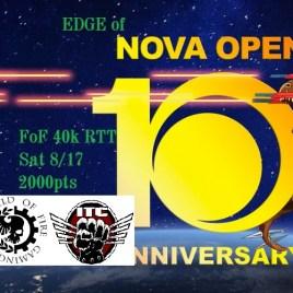 August 17th Edge of NOVA Tournament