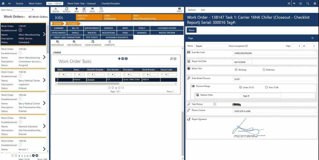 MOBILE CHECKLISTS FOR INSPECTION REPORTS