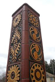 Convergence - North pillar detail