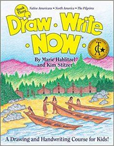 Draw Write Now Book 3: Native Americans, North America, Pilgrims