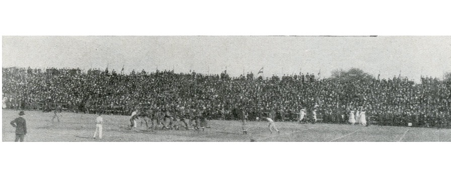 Great Lakes defeats Mare Island in the 1919 Rose Bowl - Fields of ...