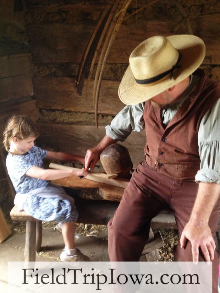 Living History Farms - 1850 Pioneer Farm Barn