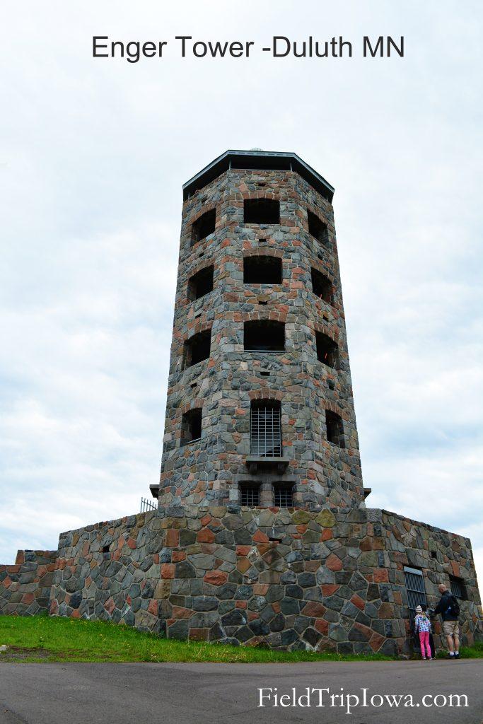 Duluth Minnesota Enger Park Tower