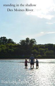 Ledges State Park in Des Moines river