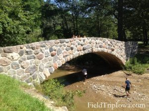 Ledges State Park Stone Bridge