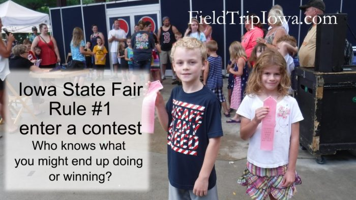 Iowa State Fair Win a Contest