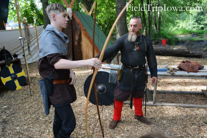 Renaissance Faire at Sleepy Hollow with Warriors of Valhalla