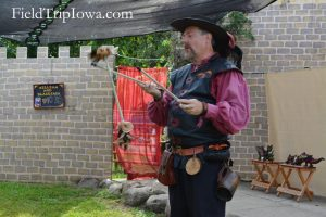 Renaissance Faire at Sleepy Hollow with William & Blackjack on the Children's Stage
