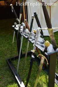 Family Guide to Renaissance Faire at Sleepy Hollow swords for sale