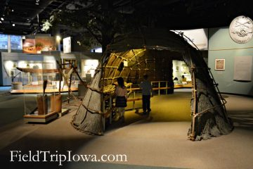 State Historical Museum of Iowa native home