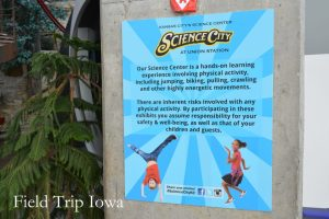 science-city-at-union-station-hands-on-sign