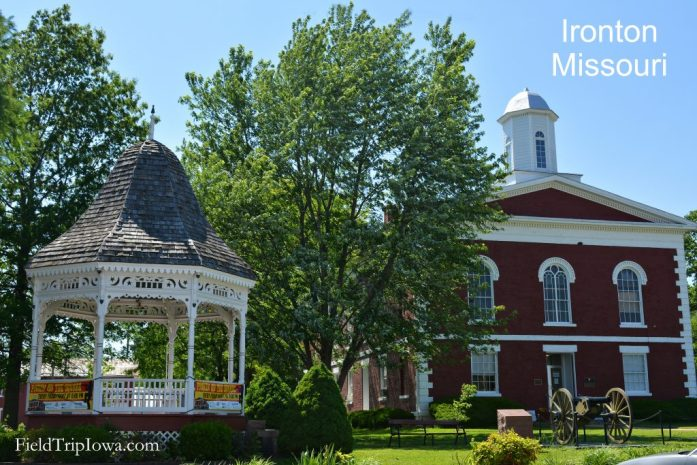 Iron County Courthouse in Arcadia Valley Inronton Missouri - Family Guide to Arcadia Valley Missouri