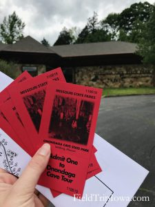 Tickets to tour at Onondaga Cave State Park in Leasburg MO