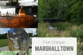 Five pictures of field trips in Marshalltown Iowa
