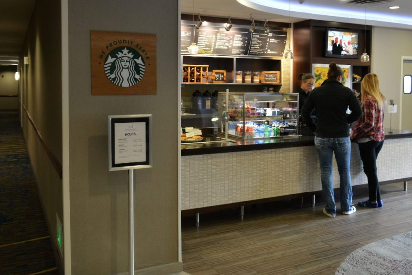 Bistro-To-Go for breakfast at Courtyard By Marriott in Roseville MN