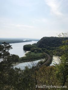 Eagle Rock Overlook at Effigy Mounds National Monument Iowa