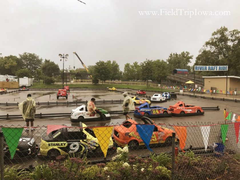 Go Cart track and cars at Minnesota State Fair
