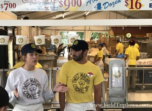 Daughter of Sweet Martha's Cookies shares with crowd at Minnesota State Fair