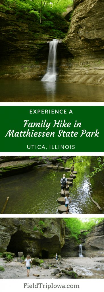 Family Hike in Matthiessen State Park