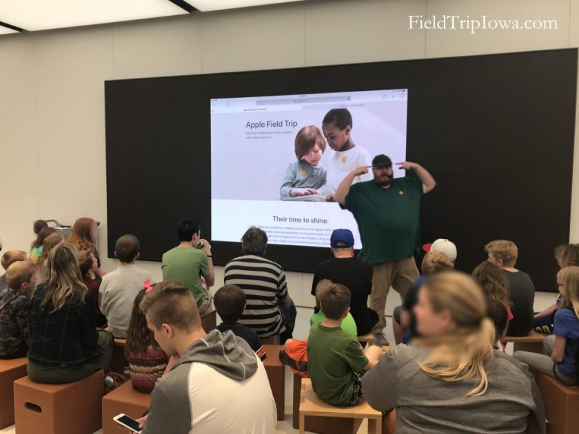 Apple Store Field Trip