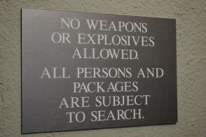 good to know before entering building