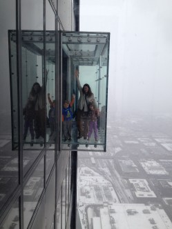 The SKYDECK at Sears Tower in Chicago