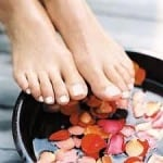 "Slip your feet in, lean back and say, ""Ahhh!"" (Natural Home Remedies)"