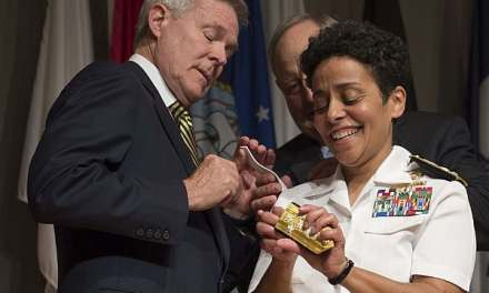 Admiral Michelle Howard Makes Navy History