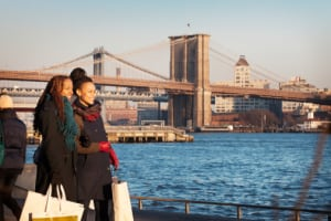 Black women in New York state saw the largest decrease in the longevity gap between themselves and white women, finds a study of life expectancy by state. (Photo: Cavan Images/Getty Images)