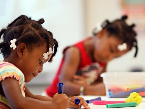 A new report and social media campaign, #BlackGirlsMatter, seeks to change the combined impact of out-of-control school discipline policies and a lack of attention to black girls' emotional needs. (Photo: Justin Bonaparte/Getty Images)