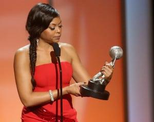 Taraji P. Henson at last year's NAACP Image Awards. Photo: Frederick M. Brown/Getty Images