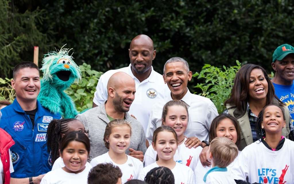 Michelle Obama Invites Students for Final Harvest