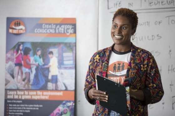 """Issa Rae has received Golden Globe and NAACP Image Award nominations for her new comedy series """"Insecure."""" (Photo: John P. Fleenor/HBO)"""