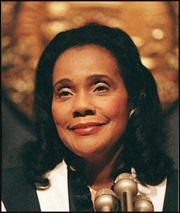 The National Women's Hall of Fame inducted Coretta Scott King posthumously in 2011.