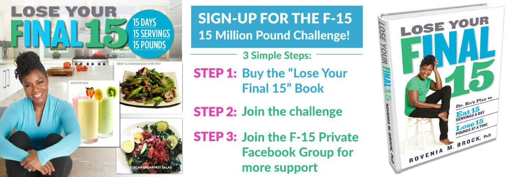 Drop 15 Pounds! Join Dr. Ro & Fierce for a 15-Day Challenge
