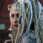 long blonde natural dreads