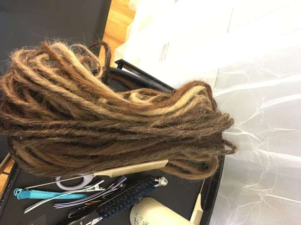 long natural synth dreads