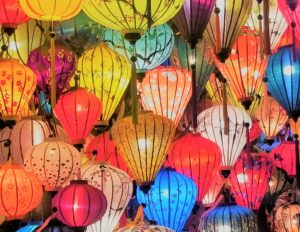 landscape lantern