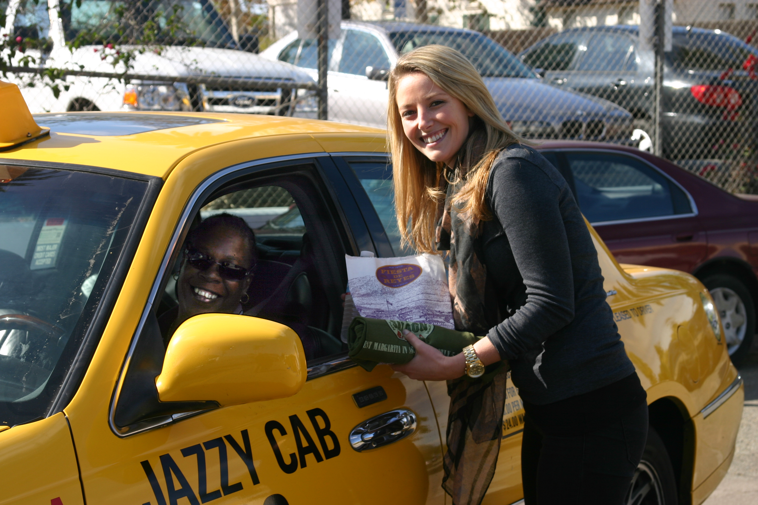 Taxi Driver Appreciation Day At Fiesta De Reyes