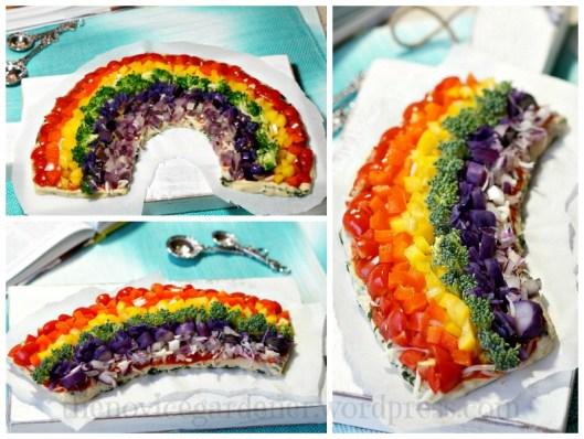 rainbow pizza | fiestafriday.net