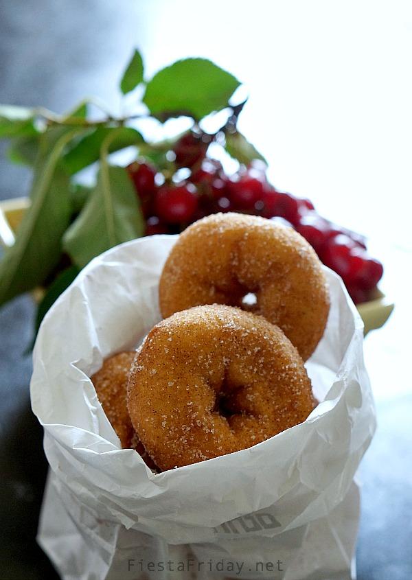 cider donuts | fiestafriday.net