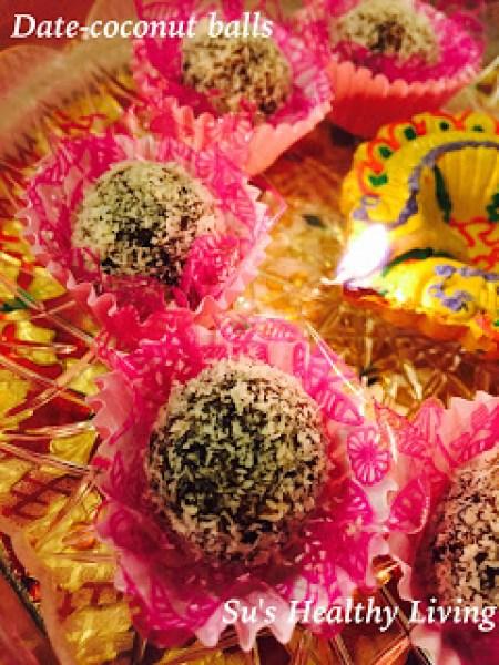 Date-coconut balls 6