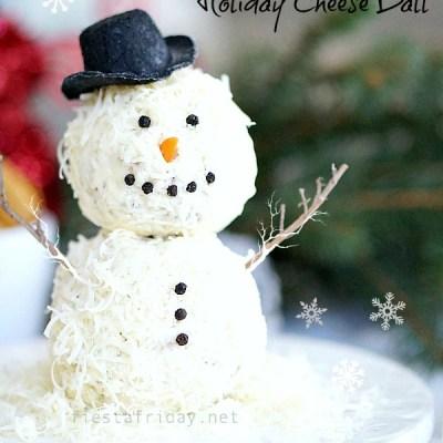 Holiday Cheese Balls