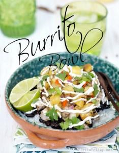 burrito bowl caribbean style